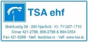 Nýtt LOGO TSA lítið