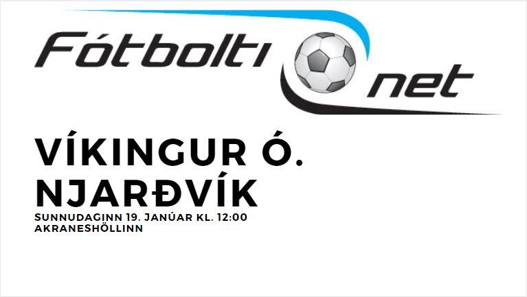 Víkingur Ó – Njarðvík